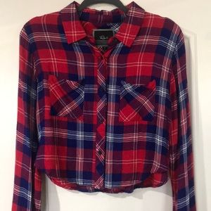 Rails short Flannel